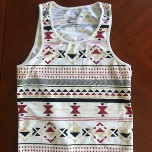 On The Byas graphic tank
